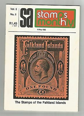 South Africa  1982  May  Stamp Monthly Magazine