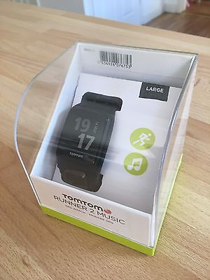 Tom Tom Runner 2 Music GPS watch (Large, Anthracite)