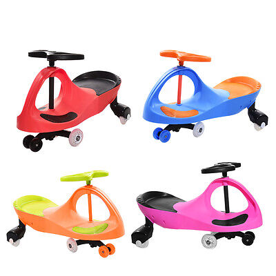 Wiggle Swing Car Ride-On Swivel Scooter Gyro Twist Go Kdis Ride-On Car UK STOCK