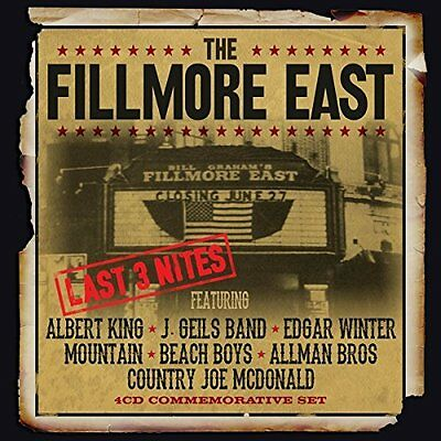 Various Artists-The Fillmore East Last 3 Nites  (Uk Import)  Cd New