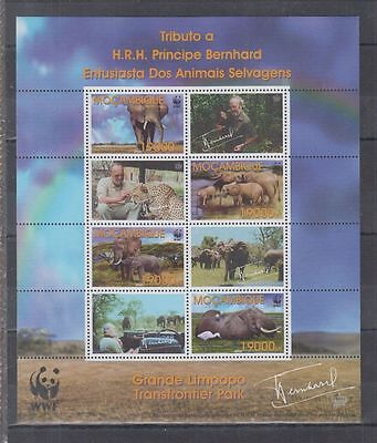 2W Mozambique - MNH - Nature - Animals - Elephants - WWF