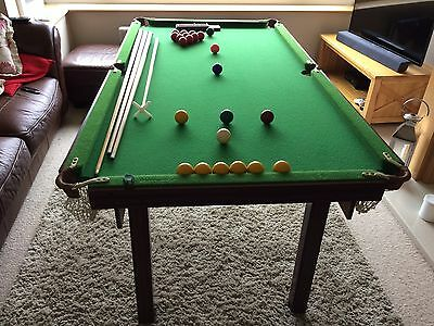 3 in 1 Snooker Pool and Table Tennis Table