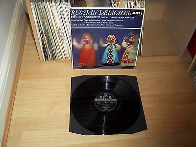 RUSSIAN DELIGHTS Ansermet / OSR UK 1964 DECCA SXL 6119 WBg Ed.2 TOP COPY !