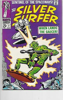 Silver Surfer (Vol.1) #2 Marvel Comics 1968 Stan Lee John Buscema VF+