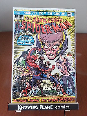Amazing Spider-Man 138 1st Appearance Mindworm Bronze Age Marvel Comic 1974 F/VF
