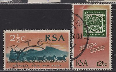 South Africa 357-358 VF Complete