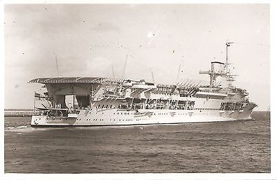 WRIGHT & LOGAN,  HMS GLORIOUS.,   Sunk 1940,     Aircraft Carrier  b