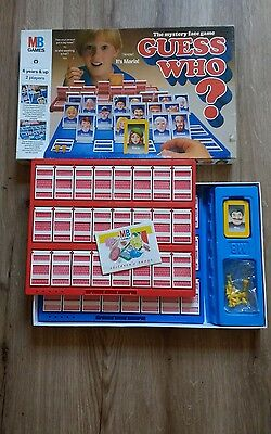 Guess Who? - The Original Guessing Game MB Games Vintage 1987 Board Game