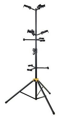 (NEUF) STANDS 6 GUITARES / BASSES Hercules GS526B