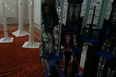monster high dolls robecca steam frankie and draculaura