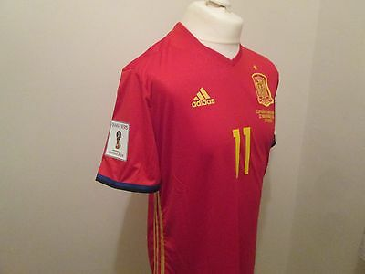 SPAIN v Macedonia match issue jersey VITOLO Large