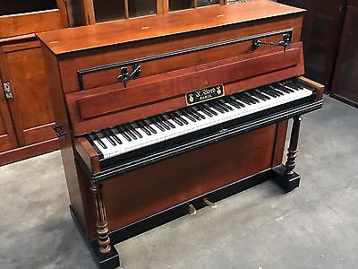 French Antique Piano Marked A Bord Paris