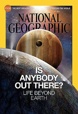 National Geographic July  2014 Life beyond Earth Groupers China caves Agricultur