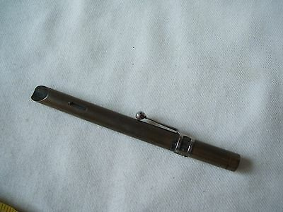 Rare Antique Pocket Magnifier Microscope Magnifying Glass in form of a Pen
