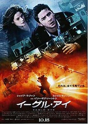 EAGLE EYE-2008-characters Japanese Movie Chirashi flyer(mini poster)