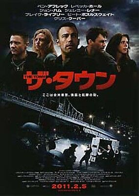 THE TOWN-2010 Japanese Movie Chirashi flyer(mini poster)