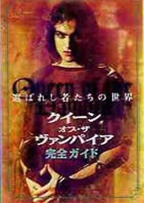 * QUEEN OF THE DAMNED-mini booklet- Japanese Movie Chirashi flyer(mini poster)