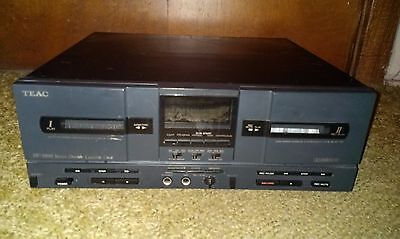 Teac Sw-3000 Programmable Dual Cassette Deck Excellent Working Order & Condition