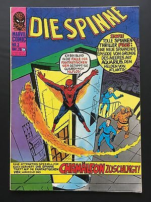 Die Spinne Nr. 3 *mit Coupon - Top Zustand* Williams 1974 Z1-2