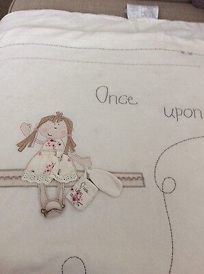 mamas and papas once upon a time cot quilt bumper and blanket