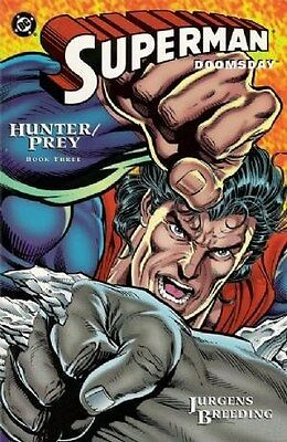 "Comic DC ""Superman/ Doomsday: Hunter/ Prey #3"" 1994 NM"