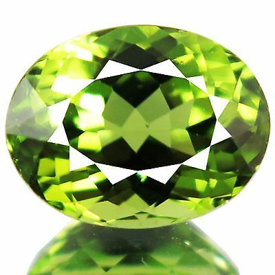 2.18 Cts Unheated Earthmined Parrot Green Color Natural Peridot-Vs