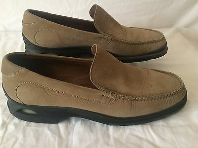 COLE HAAN Mens Leather Slip on Loafers Nike Vis AIR  Size 12