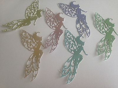 Fairy Die Cut Shapes - Card Making, Toppers, Scrapbooking, Sets of 12