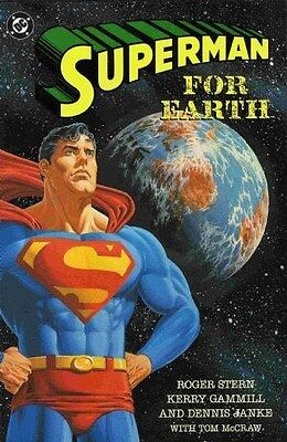 "Comic DC ""Superman for Earth #1"" 1994 One-Shot NM"