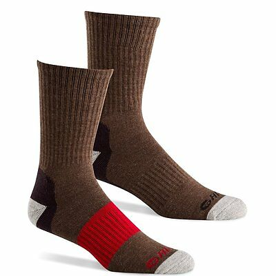 Hi-Tec Men's Performance Hiking Socks for Outdoors, Casual Use Pack of 2 Pairs -