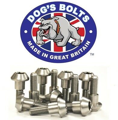Yamaha TDM900 (ABS & Non ABS) 02-09 Stainless Steel Front Brake Disc Bolt Kit