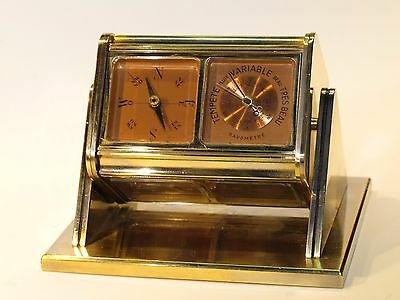 Fabulous ANGELUX clock, with 6 dials in unbeatable condition