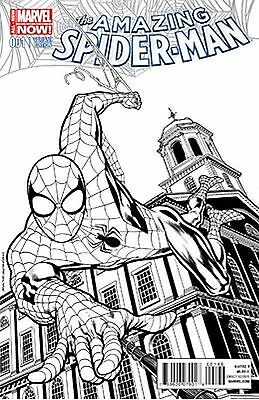 Marvel Comics Amazing Spider Man #1 Vol 3 Kevin Nowlan Exclusive Sketch Variant