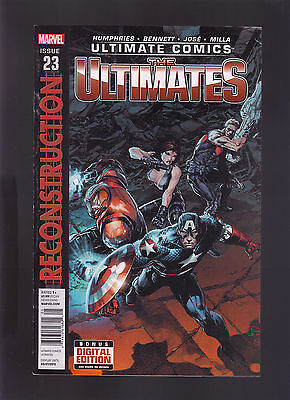Marvel Ultimate Comics The Ultimates #23 Newsstand Variant Edition Reconstructio