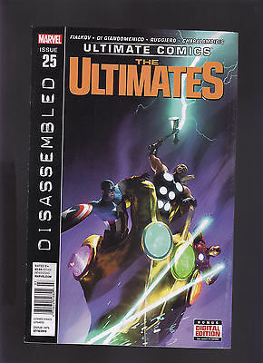 Marvel Ultimate Comics The Ultimates #25 Newsstand Variant Edition Reconstructio