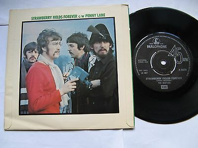"The Beatles ""Strawberry Fields Forever /Penny Lane""1967 Parlophone / EMI reissue"