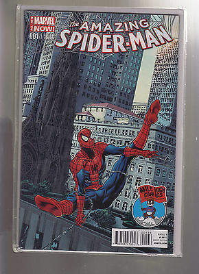 Marvel Comics Amazing Spider Man #1 Vol 3 Mile High Comics Exclusive Variant