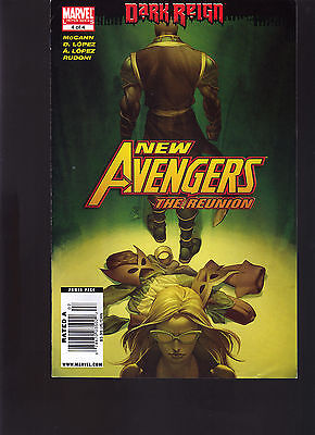 Marvel Comics New Avengers #4 Of 4  Newsstand Variant Edition