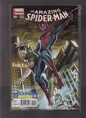 Marvel Comics Amazing Spider Man #1 Vol 3 Maximum Comics Exclusive Color Variant
