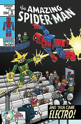 Marvel Comics Amazing Spider Man #1 Vol 3  Diamond Summit Exclusive Lego Variant