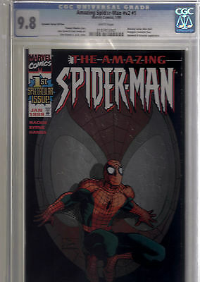 Marvel The Amazing Spider Man #1 Vol 2 Dynamic Forces Variant Cgc 9.8 W/coa