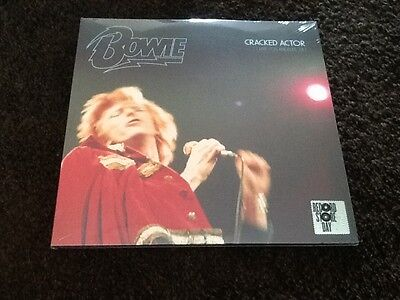 David Bowie Cracked Actor 3 LP Live Los Angeles 74 Record Store Day Sealed