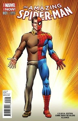 Marvel Comics Amazing Spider Man #1 Vol 3 Cobra Alliance Exclusive Color Variant
