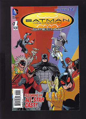 Dc Comics The New 52! Batman Incorporated Special #1 1St Print Direct Edition