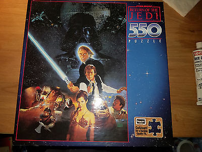 Rose Art Star Wars ROTJ 550 Piece Puzzle