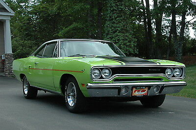 1970 Plymouth Road Runner B-Body 1970 Plymouth 383 Road Runner Restored Rare Classic Antique Muscle Car