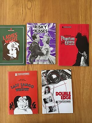 5 Programmes From The Derngate Theatre in Northampton from 1991
