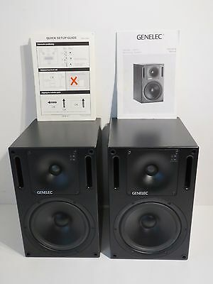 "Genelec 1031A 8"" Two-Way Active Studio Monitors – Pair"