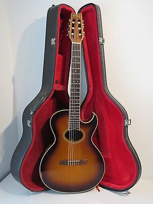1980's Washburn Tanglewood Classic Electro Acoustic Classical Guitar - MiJapan