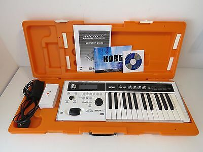 Korg Micro X Limited Edition Synthesizer - Pearl White